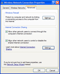 3. Allow Internet Connection Sharing
