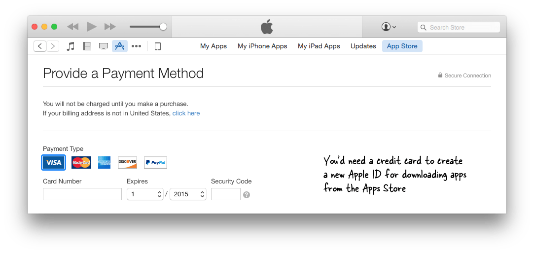 How to Create an Apple ID for iTunes without Credit Card