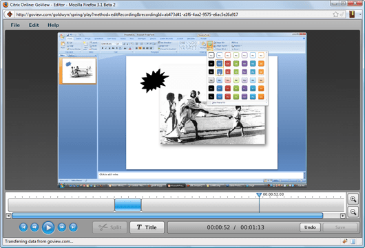 screencast online editor