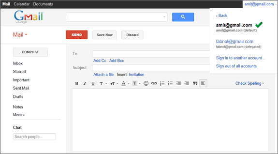 ventraip how to use gmail to get your emails