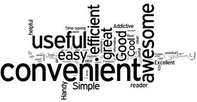 How will you describe Google Reader in one word
