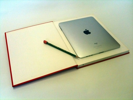 iPad in a Book