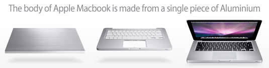 macbook aluminum