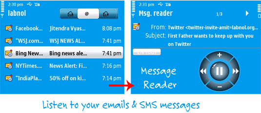 email message reader
