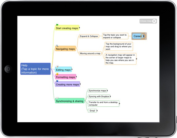 Mind Manager for iPhone and iPad