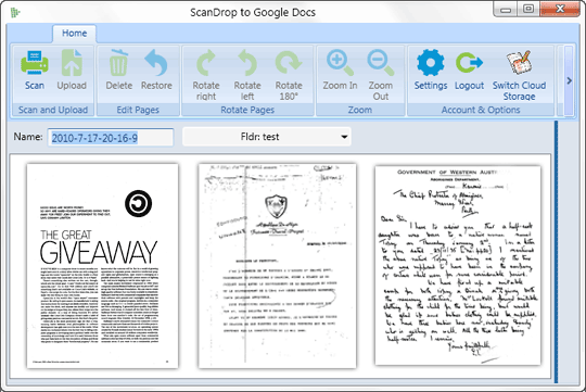 Scan And Upload Your Paper Documents To Google Docs
