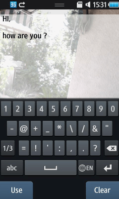 Samsung - Text with camera on