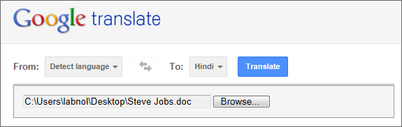 How to Translate PDF Files and Word Documents with Google