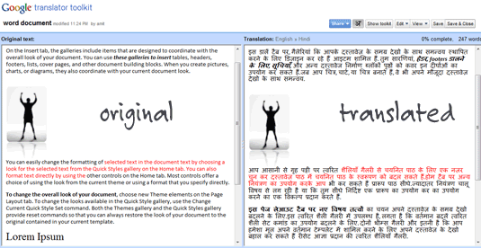 Translate Word Documents & Text Files Online with Google