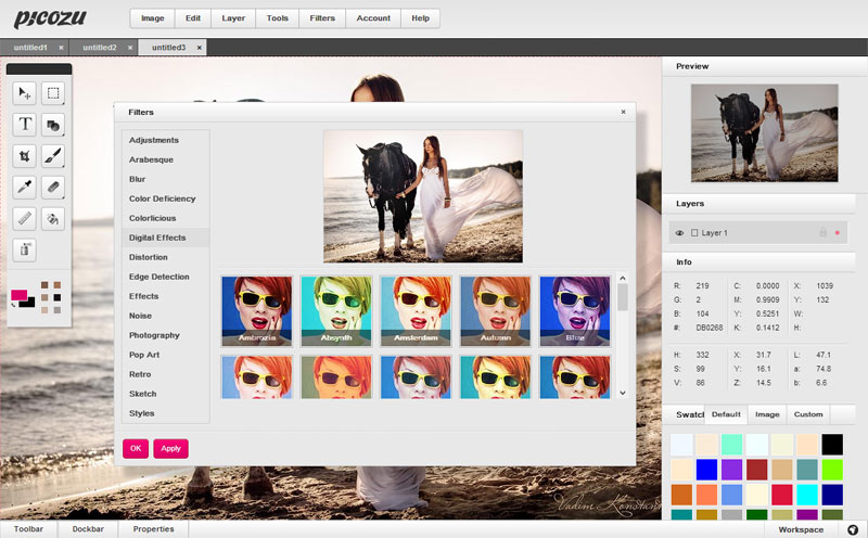 Online Image Editing App