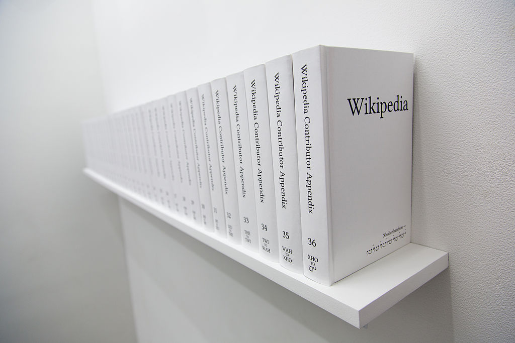 wikipedia printed books