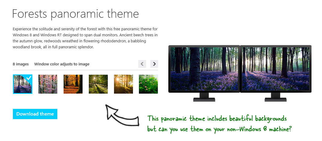How to Use Windows 8 Themes on Windows 7 Machines