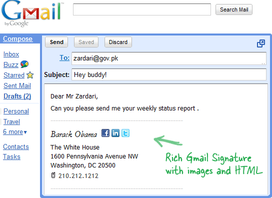 How to Create HTML Signatures in Gmail with Images and Logos
