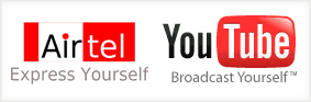 youtube airtel logo