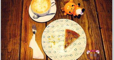 宜蘭羅東 》Amy's cafe愛蜜絲。香蕉焦糖翻跟斗好好吃♥甜點和飲品都很優的用心好咖啡店,就在麵魂家旁邊(不限時/無限wifi/插座/免服務費)