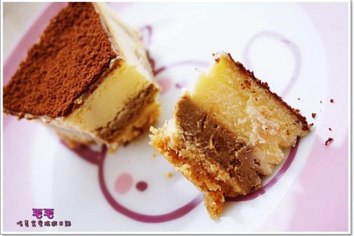 台中北屯 》Double&Cake貝可貝樂。提拉米蘇的化身♥雙層乳酪蛋糕♥想拒絕它們都很難。獨家特色甜點→貝卡巧神♥(宅配團購)