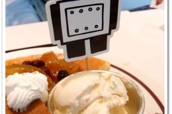 台北信義 》食記:ARANZI CAFE阿朗基阿龍佐(阪急店)。阪急店限定熊貓蘋果鬆餅