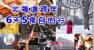 北海道跨年6天5夜自由行行程安排懶人包攻略》必吃美食必去景點一次搞定/不一樣的神社跨年/北海道冬天穿搭/天氣溫度/航班飯店推薦