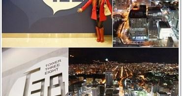 北海道。2013冬 》JR TOWER展望室T38。冬季雪夜景,美得不像話,北海道札幌推薦必去景點