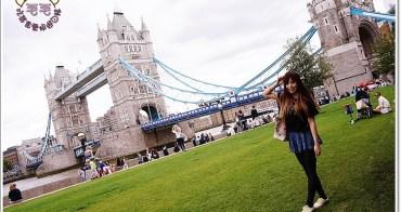 英國倫敦景點推薦》Tower Bridge倫敦塔橋。幸運地目睹兩扇橋打開讓船駛過♥漫步泰晤士河畔,見證文明的演變(Tower Hill Station|自助旅行)