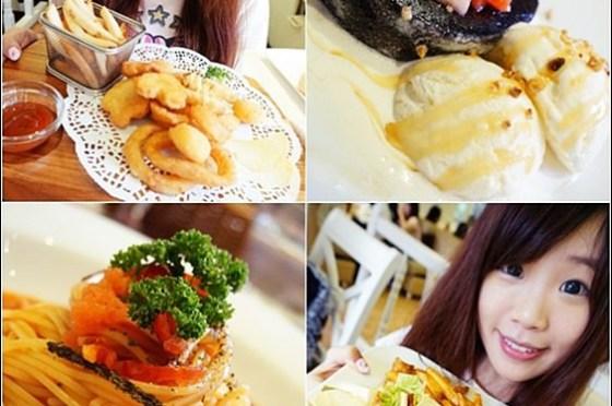 台北萬華 》食記:Oyami cafe。西門町優質夢幻下午茶餐廳♥德國農莊B&G(文末優惠)(邀約)