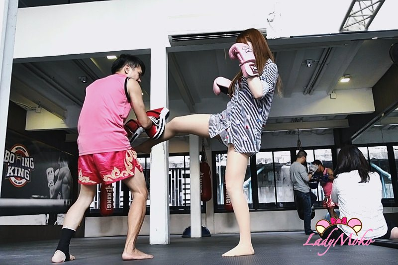 曼谷Boxing King泰拳教室》爆汗!我跟退役泰國拳王學泰拳! - ♥毛毛's 吃美食愛旅遊日誌♥