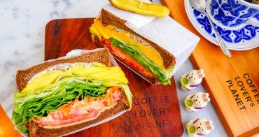 東區忠孝敦化咖啡》COFFEE LOVER's PLANET,超好吃酪梨三明治&冠軍專業咖啡