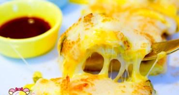 中山站早午餐》朝富cha'o food,起司瀑布粉漿河粉蛋餅好吃又超平價早餐推薦