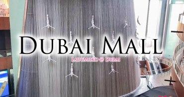 杜拜景點》全世界最大購物中心Dubai Mall/杜拜水族館Dubai Aquarium