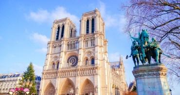巴黎經典景點》西堤島畔的巴黎聖母院教堂內部免費參觀