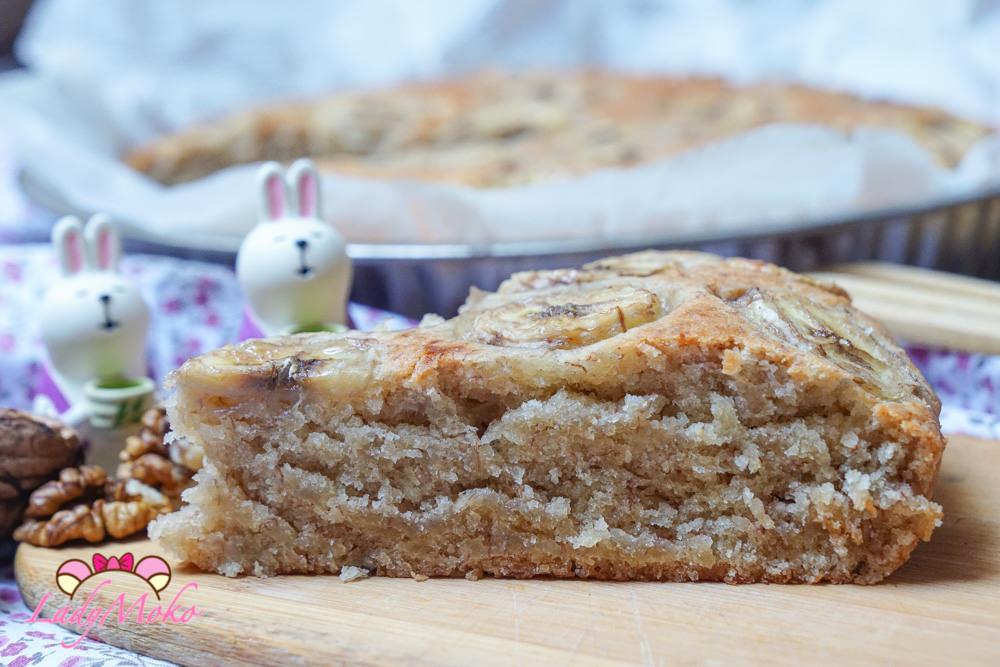 食譜|全素香蕉磅蛋糕/麵包 Simple Vegan Banana Cake/Bread Recipe(無蛋無奶no eggs/milk) - ♥毛毛's 吃美食愛旅遊日誌♥