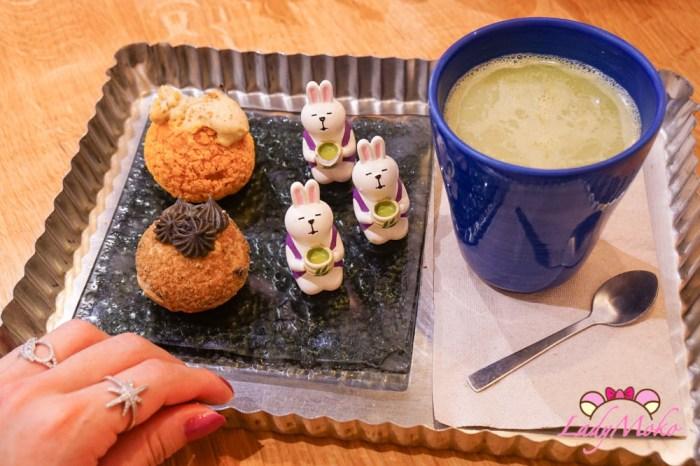 巴黎甜點 Bulliz Choux, 迷你小泡芙專賣店,安靜適合閱讀工作的早午餐甜點咖啡廳