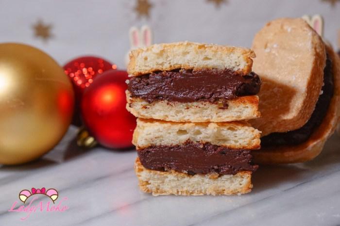 絕對厚!鬆!軟!達克瓦茲食譜 小撇步筆記,巧克力脆脆口味/巧克力甘納許夾餡食譜