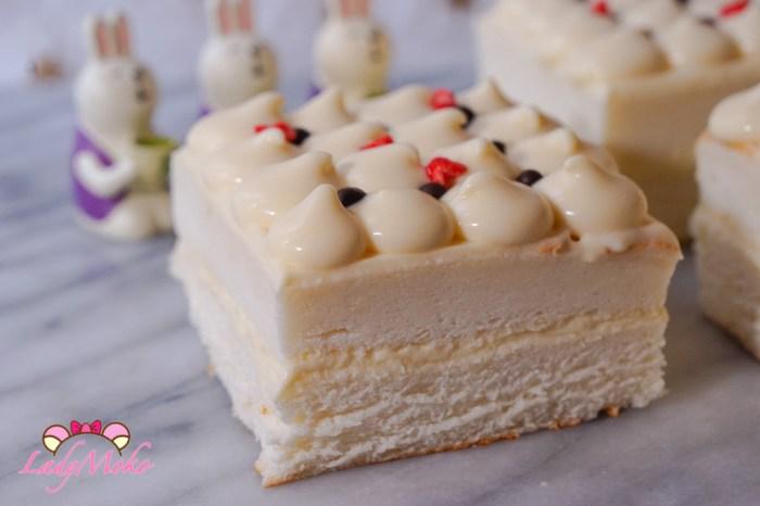 天使檸檬柚子甘納許慕斯蛋糕食譜|檸檬天使蛋白蛋糕&柚子巧克力慕斯食譜Yuzu Ganache Montée