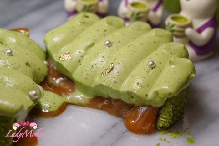 法芙娜Dulcey32%金黄巧克力甘納許抹茶慕斯塔|法式甜點食譜