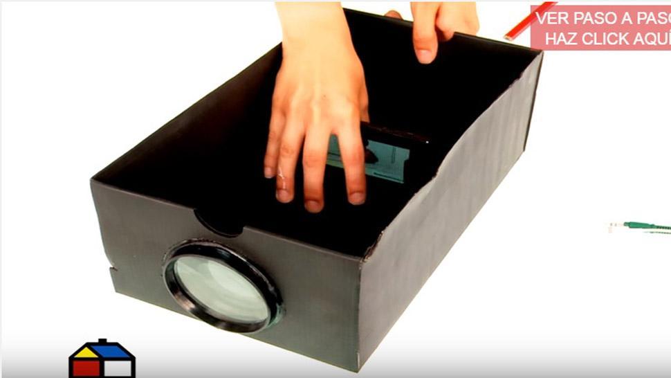 Cmo hacer un proyector casero para tu celular paso a paso