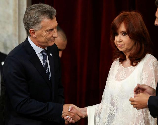 Foto Cristina y Macri - 20191210