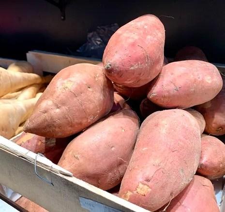 une patate douce mais tres tendance