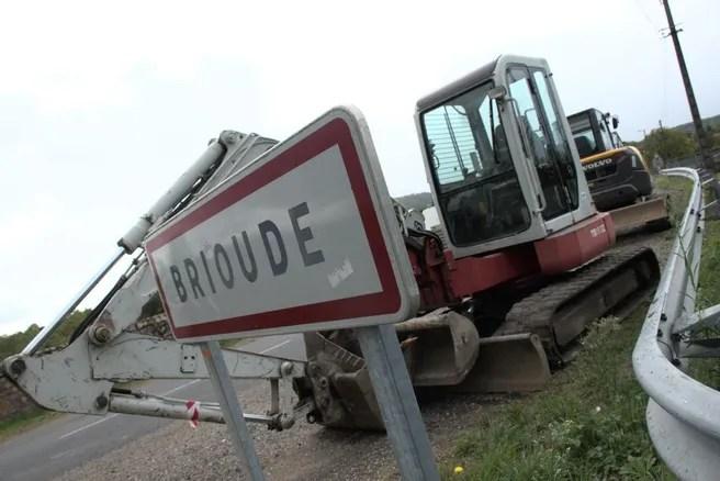 Le tour des travaux en cours à Brioude (Haute-Loire) en photos - Brioude (43100)