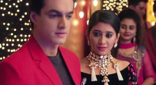 Image result for Aryan slapped for breaking Kartik Naira apart in Yeh Rishta Kya Kehlata Hai