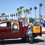 Car Caravan Protesters Seek Unity In Black Lives Matter Movement Long Beach Post News