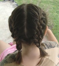 How to Do a Double French Braid | LEAFtv