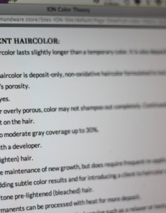 The ioncolorbrilliance website see link in resources offers  number of suggestions and tips when using its product permanent hair color also ion dye instructions leaftv rh leaf