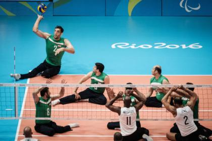 Handisport volleyball, out of the Paris Video games?