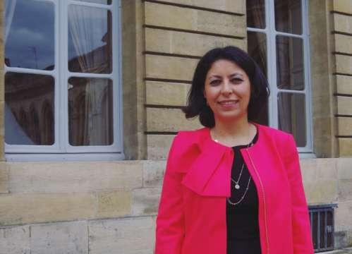 Leila Aïchi, sénatrice de Paris.