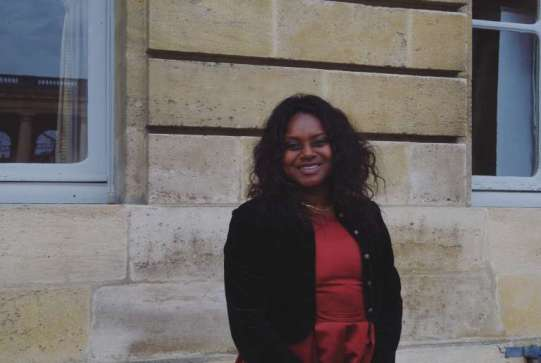 Nancy Traoré, conseillère municipale du Bouscat.