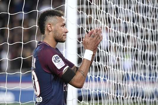 Neymar lors du match face à Toulouse.