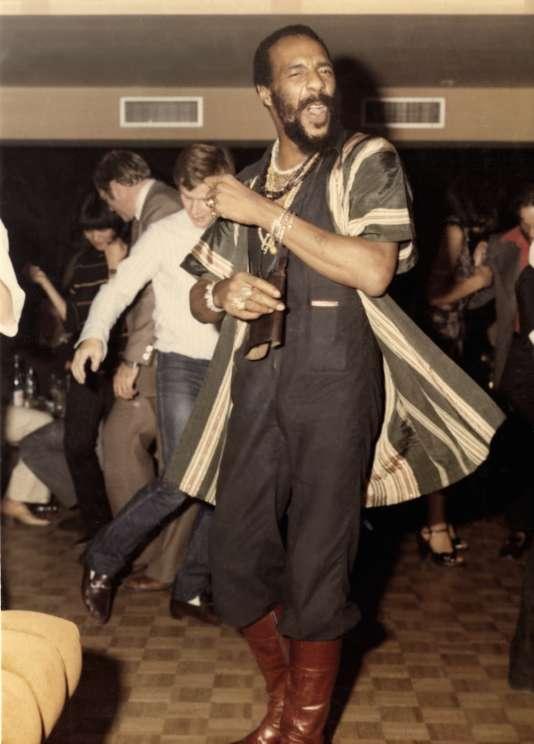Le chanteur américain Marvin Gaye sur la piste du «Keur».