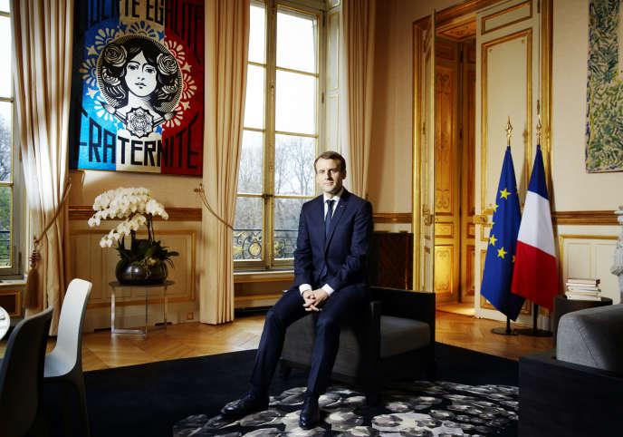 Macron et les fantmes du  bureau qui rend fou