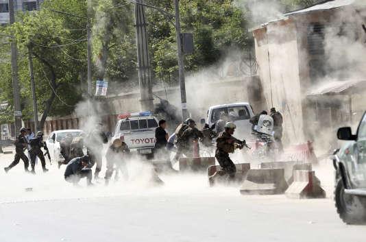 La seconde explosion s'est produite quelques minutes après la première attaque, visant les journalistes accourus sur place.